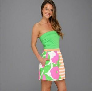 Lilly Pulitzer Fleur Neon Sunrise Dress